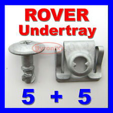 ROVER 75 MG ZT ENGINE UNDERTRAY CLIPS SPLASHGUARD SHIELD BOTTOM COVER FASTENER