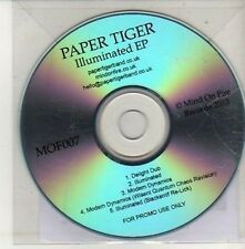 (CU460) Paper Tiger, Illuminated EP - 2012 DJ CD