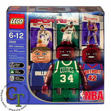 Lego Sports Basketball NBA Collectors 6 (3565) Pierce Stackhouse Nash NEW SEALED