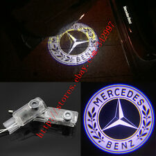2x LED Door Step Courtesy Shadow Laser Lights For Mercedes ML-Class W164 2005-11