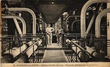 MONTCEAU LES MINES - Station Centrale du Lucy - Passerelle des batteries de chau