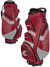 Team Effort The Bucket II Cooler NCAA Golf Cart Bag Washington State Cougars