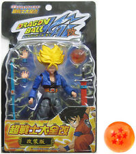 "Dragonball Z KAI 4.5"" SS FUTURE TRUNKS Action Figure w/LARGE DRAGONBALL"
