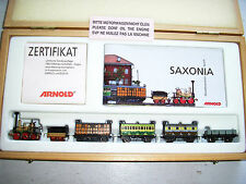 Arnold 0247 RAILEX Brass SAXONIA N scale Steam Loco Set – EX RUNS