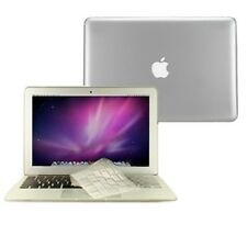 """2 in 1 Crystal CLEAR Case for Macbook AIR 13"""" A1369 with TPU Keyboard Cover"""