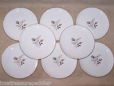 Eschenbach Germany Baronet China Belclaire 8 Bread Dessert Plates Roses