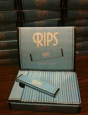 25 Packs RIPS King Size Cigarette Rolling Papers SEALED BOX 32 leaves Extra Thin