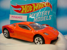 2014 Mystery Models #01 ACURA HSC CONCEPT ∞ #1 Orange ∞ w/Sticker∞Hot Wheels