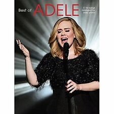 The Best Of Adele (Easy Piano), Adele, Very Good, Paperback