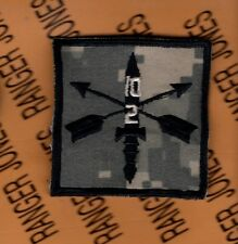 2nd Bn 10th Special Forces Group AIRBORNE SFGA ACU HCI Helmet Cover patch