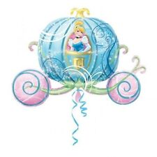 Disney Cinderella Carriage Birthday Party SuperShape Jumbo Foil Balloon 28""