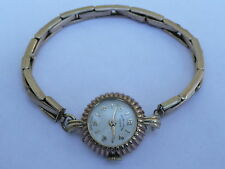 SUPERB LADIES 9CT SOLID GOLD SWISS COCKTAIL WATCH FAVRE-LEUBA GENEVE ADJUSTABLE