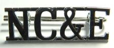 NC&E Nigeria Customs & Excise Shoulder Title Metal Pin Badge Uniform Insignia