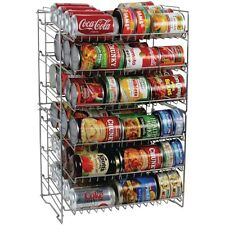 Can Storage Holder Kitchen Pantry Cabinet Organizer Canned Goods Rack  Shelf