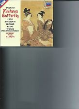 Puccini: Madama Butterfly (CD, Mar-1987, 3 Discs, London) WITH BOOK)