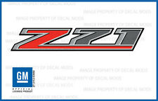 2 - 2016 Z71 Decals - F stickers Parts Chevy Silverado GMC Sierra Truck Bed 4x4