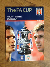 2006 FA CUP SEMI FINAL CHELSEA v  LIVERPOOL MATCH PROGRAMME