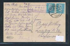92589) DR   DDR Landpost Ra2 Pöhl Schwarzenbach (Vogtl) Land, Karte 1931