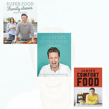 Super Food Collection 3 Books Set By Jamie Oliver NEW Super Food Family Classics