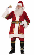 Adult Premium Classic Santa Claus Costume Old World Christmas Size Standard