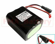SANYO Li-ion 18650 11.1V 5200mAh Battery Pack 6cells to 3S2P With PCM & Plug US