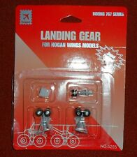 5255 Boeing 767 Wheel Landing Gear Set w/ rubber tires  Hogan Wings 1:200
