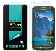 TechFilm® Tempered Glass Screen Protector Saver For Samsung Galaxy S5 Active