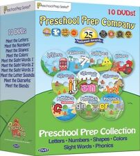 PRESCHOOL PREP COMPANY COLLECTION 10-DVD SET NEW