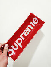 Supreme glass ashtray red box logo one size