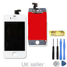 UK Replacement LCD Display  Touch Screen  Assembly  For iPhone 4S White A1387