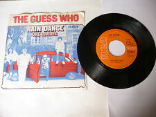 "THE GUESS WHO"" RAIN DANCE-disco 45 giri RCA Ger 1970""PERFECT"