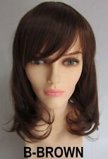 NEWJF813  new fashion short brown curly natural hair wigs for women wig