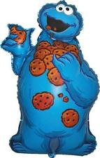 Sesame Street Cookie Monster Con Forma De Supershape Globo De La Hoja