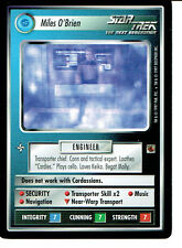 STAR TREK CCG THE FAJO COLLECTION, MILES O'BRIEN RARE CARD