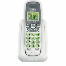 6.0 Cordless Phone White/Grey 1 Handset VTECH CS6114 DECT New EBiz