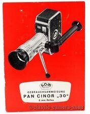 """Som Berthiot manual de instrucciones """"pan cinor 30"""" User Manual instrucciones (x2370"""