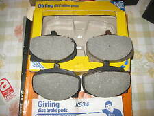 HILLMAN HUNTER & SUNBEAM RAPIER & ALPINE FASTBACK & HUMBER SCEPTRE - BRAKE PADS
