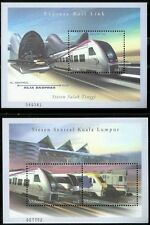 Express Rail Link Malaysia 2002 Transport Train Locomotive (miniature 2's) MNH