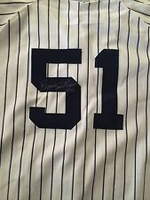 2006 BERNIE WILLIAMS SIGNED GAME USED HOME JERSEY- YANKEE STADIUM-STEINER AUTH