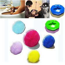 Puppy Pet Fur Hair Shampoo Body Bath Quick Cleanning Brush Dog Cat Massager Comb