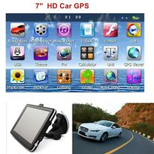 "7"" HD Touch Screen CAR TRUCK 8GB GPS Navigation Navigator SAT NAV Maps car"
