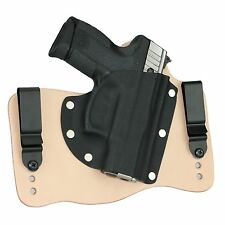 FoxX Leather & Kydex IWB Hybrid Holster Taurus Pro PT111, PT140, PT145 Tan Right