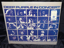 Deep Purple In Concert SEALED USA 1980 1ST PRESS 2 VINYL LP SET RARE