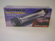 Sharper Image Hummer shake flashlight no batteries it floats  New in Box