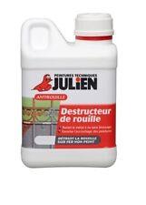 DESTRUCTEUR ROUILLE JULIEN 1L ANTIROUILLE détruit chimiquement la rouille