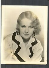 4 GREAT ANITA PAGE PORTRAITS - 1932 OLYMPICS EARRINGS - SILENT + TALKIE STAR