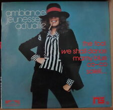 ALLAN CRAWFORD AMBIANCE JEUNESSE ACTUALITE CHEESECAKE CIGARETTE COVER FRENCH LP