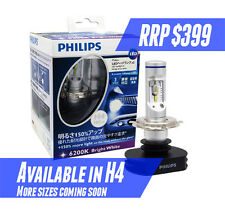 2x Philips H4 Hi/Lo 6200k LED Headlight 150% white light Replace 12V 65W/55W