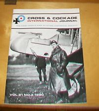 CROSS & COCKADE GREAT BRITAIN JOURNAL VOL 21 No 3 1990 DH2 RFC 3 (RESERVE SQN)