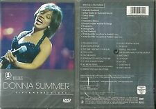 DVD - DONNA SUMMER : EN CONCERT LIVE & MORE / NEUF EMBALLE - NEW & SEALED